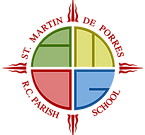 Logo of St. Martin de Porres School